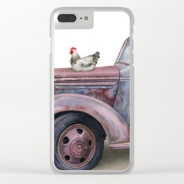 The Flock Spot Clear iPhone Case
