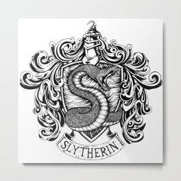 Slytherin Metal Print