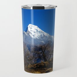 Panoramic View Of Annapurna Ghorepani Poon Hill Travel Mug