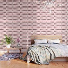 Red Heart-Bit Wallpaper