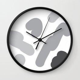 round pattern Wall Clock