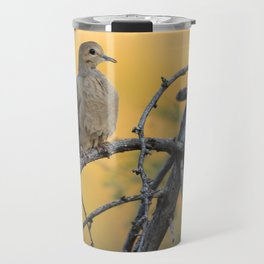 It was a beautiful mourning, right dove? Travel Mug