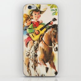 Little Cowboy iPhone Skin