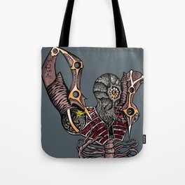 Steampunk Monster Tote Bag