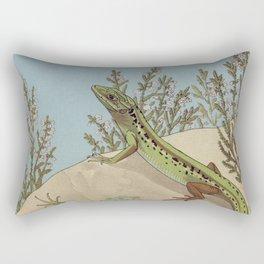 Lizards Rectangular Pillow