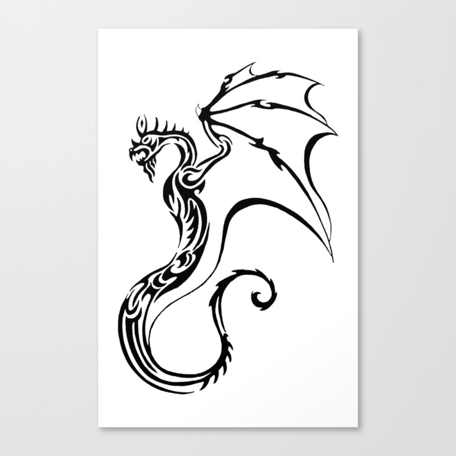 Tribal dragon tattoo st