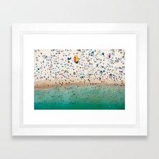 Bondi Rescue Framed Art Print