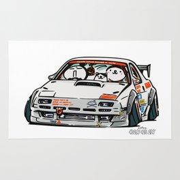 Crazy Car Art 0143 Rug