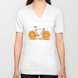 Zest (Orange Wheels) Unisex V-Neck