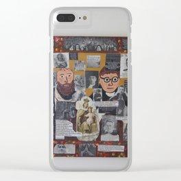 Carmelite Saints II Clear iPhone Case
