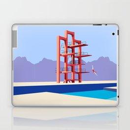 Soviet Modernism: Diving tower in Etchmiadzin, Armenia Laptop & iPad Skin