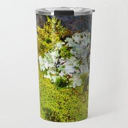Tree Bark with Lichen#8 Travel Mug