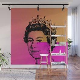 Queen Elizabeth II Wall Mural
