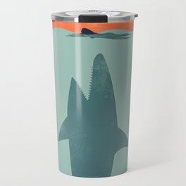 Shark Attack Travel Mug