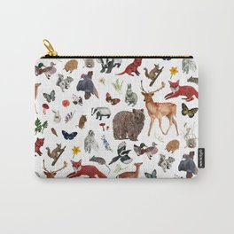 Wild Woodland Animals Carry-All Pouch