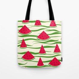 Watermelon pattern . 2 Retro . Tote Bag