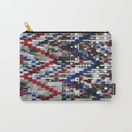 Clinically Proven (P/D3 Glitch Collage Studies) Carry-All Pouch