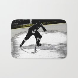 On the Move - Hockey Player Bath Mat