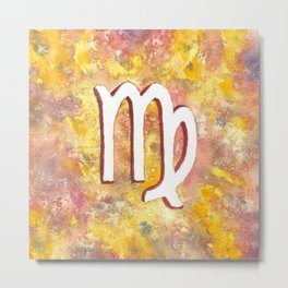 Zodiac sign : Virgo Metal Print