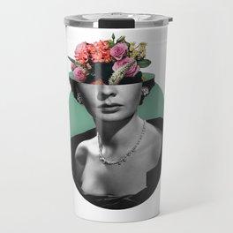Jean simmons Floral Travel Mug