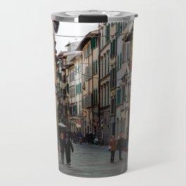 Via Faenza - Florence, Italy Travel Mug
