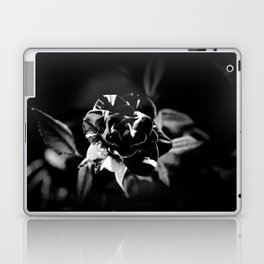 Black and White Rose Laptop & iPad Skin