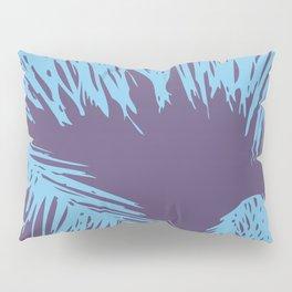 Ultra Violet Palm Print Pillow Sham