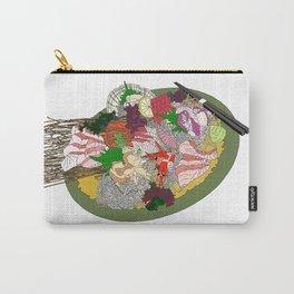 Gorgeous Sashimi Set from Mr Sasaki Carry-All Pouch