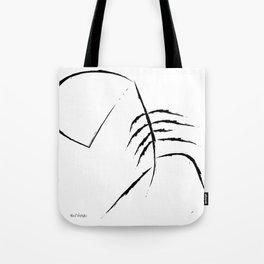 Sad Figure Tote Bag