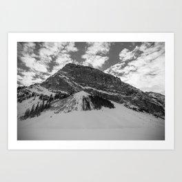 Fairview Mountain, Lake Louise, Alberta Art Print