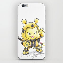 This Kid is Electrifying iPhone Skin