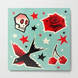 Swallow the cherry Metal Print
