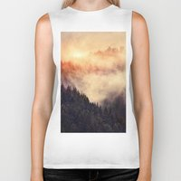 urban Biker Tanks featuring In My Other World by Tordis Kayma