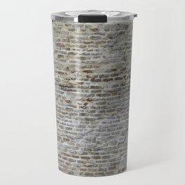 brick wall pattern and texture Travel Mug