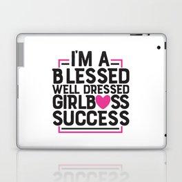 Girl Boss Success Laptop & iPad Skin