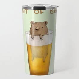 Pint of Bear Travel Mug