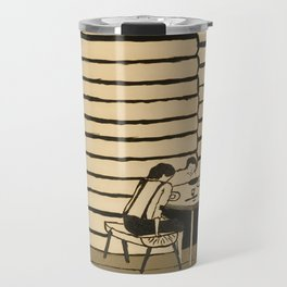 Family Supper by Horace Pippin, 1946 Travel Mug