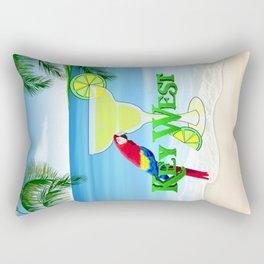 Key West Margarita Rectangular Pillow