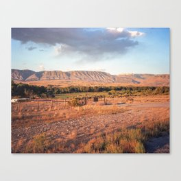 Wyoming Witching Hour Canvas Print