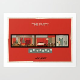 The party_ Directed by Blake Edwards Art Print