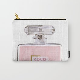 Classic Pink Parfum Perfume Fashion Cute Minimalism Carry-All Pouch