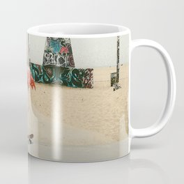 Venice Beach Flamingo Coffee Mug