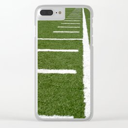 Football Lines Clear iPhone Case
