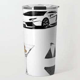 Lamborghini Martini Bikini Travel Mug