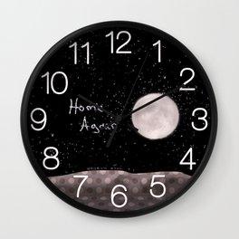 Home Again Wall Clock