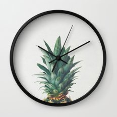 Pineapple Top Wall Clock