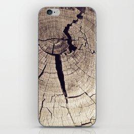 Cracks in Time iPhone Skin