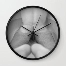 Man in Bathtub Wall Clock