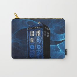 TARDIS BLUEFAME Carry-All Pouch