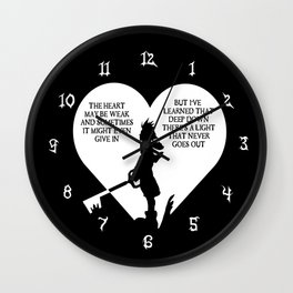 NeverEnding Light Wall Clock